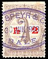 Switzerland Basel 1899 bordereau revenue 2Fr - 11A.jpg