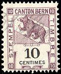 Switzerland Bern 1906 revenue 10c - 73B.jpg