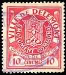 Switzerland Delémont 1904 revenue 10c - 2.jpg