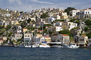 Symi - Houses of the island