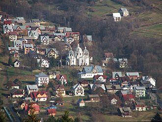 Szlachtowa - General view