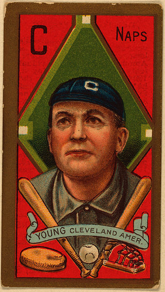 Cy Young, 1911 baseball card T205 Cy Young.jpg