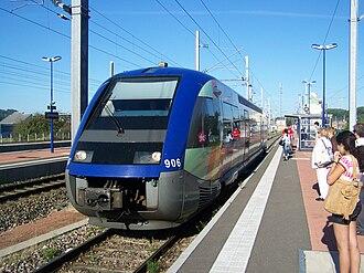 SNCF Class X 73900 - Image: TER à Mommenheim