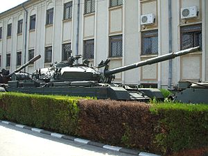 TR-85 - TR-85M1A (early version of the TR-85M1) on display at the National Military Museum in Bucharest.