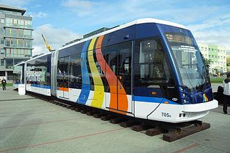 Solaris Bus & Coach - Solaris Tramino S109j tram in Germany