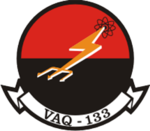 Tactical Electronic Warfare Squadron 133 (US Navy) inisgnia c1981.png