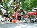 Taichung County, Houli Township, Yuemei Village, cloud Tau Road, Camphor tree - 1400 years old - panoramio (6).jpg