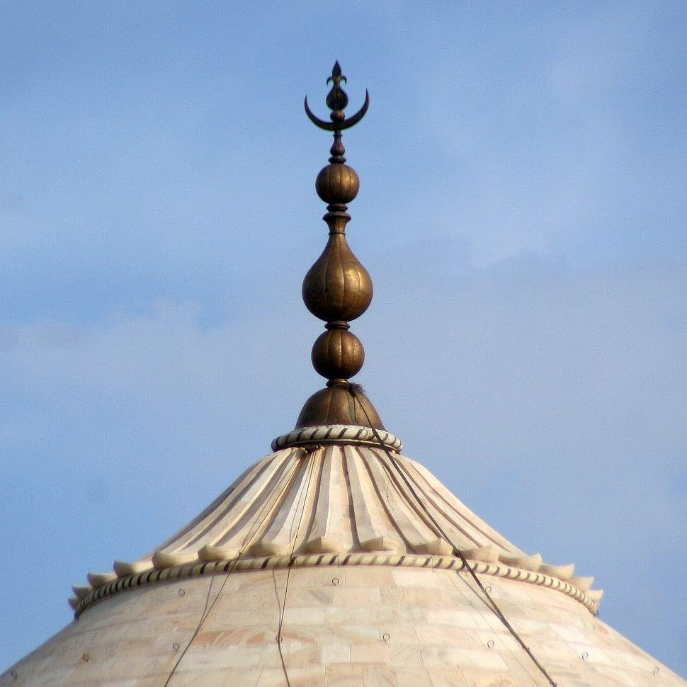 Finial, tamga of the Mughal Empire.