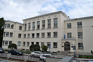 Tallinn French School - The main building at 3 Hariduse street