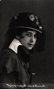 Tamara Karsavina -circa 1910 c