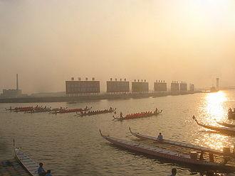 Tanggu District - A dragonboat race in Tanggu.
