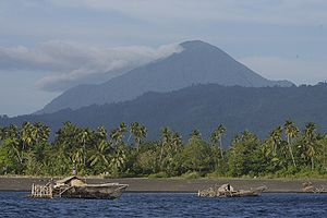 Sulawesi - Mount Tongkoko is a volcano in North Sulawesi