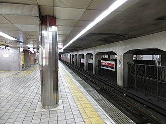 Tanimachi Kyūchōme Station - Tanimachi Line platforms