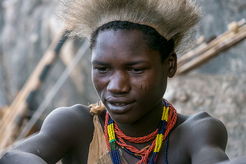 File:Tanzania - Young Hadzabe hunter (14533463462).jpg
