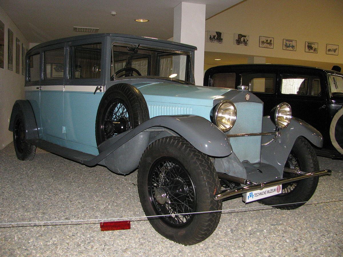 Tatra 87 1937 azul metalizado Wiking 082749 pista h0 1:87 coche modelo Oldtimer