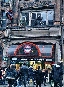 Tottenham Court Road undergrunnsstasjon