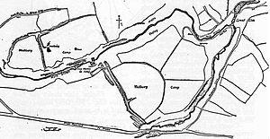 Tedbury Camp - Plan of the site
