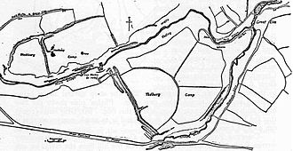 Tedbury Camp - Plan of the site