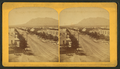 Tejon Street, Colorado Springs, Colorado, looking south, with Cheyenne Mountain in the distance, by Gurnsey, B. H. (Byron H.), 1833-1880.png