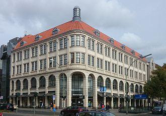 Karstadt - Karstadt department store in Berlin
