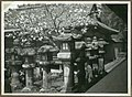 Temple lanterns, Nara, Japan. 1935 (10795731493).jpg