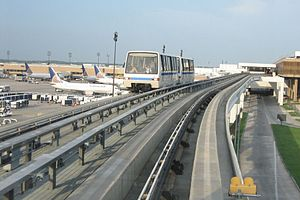 Skyway (George Bush Intercontinental Airport) - Image: Termina Link
