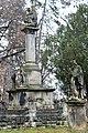 Tevel, római katolikus templom előtti szobrok 2020 02.jpg