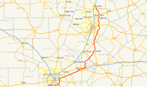 Texas State Highway 130 - Image: Texas SH 130 map