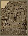 Thèbes. Bas-relief dans l'interieur du Rhamesséion. Egypte - Bonfils. LCCN2004667883.jpg