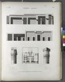 Thèbes. Qournah (Qurna). Plan, coupes et détails de chapiteaux du palais (NYPL b14212718-1267971).tiff