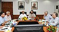 Thaawar Chand Gehlot and the Minister of State for Minority Affairs (Independent Charge) and Parliamentary Affairs, Shri Mukhtar Abbas Naqvi, in a meeting, in New Delhi.jpg
