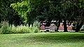 Thakeham Bench at Easton Lodge Gardens, Little Easton, Essex, England 05.jpg