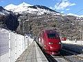 Thalys d'hiver en gare de Bourg-St-Maurice (2018).JPG