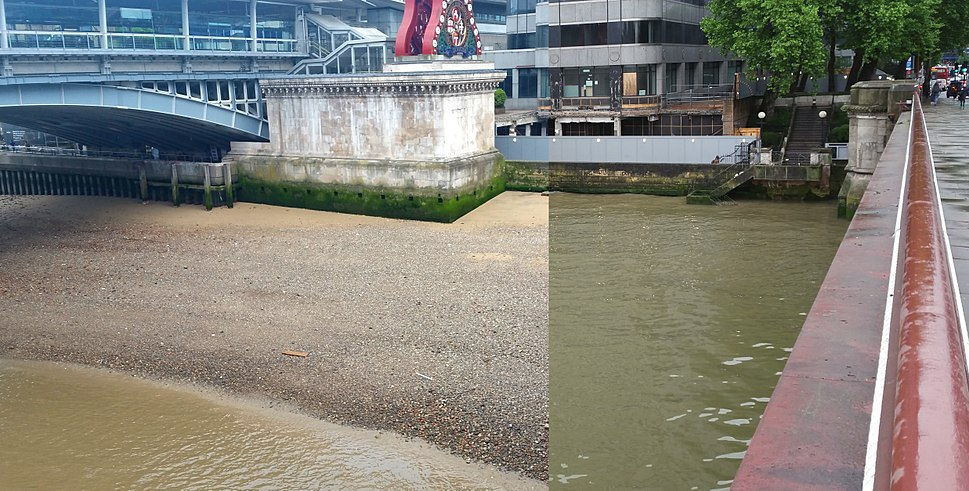Thames tide