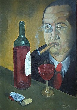 The Banker,smoking