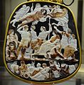 The Great Cameo of France, a five-layered sardonyx cameo divided into three level and depicting members of the Julio-Claudian dynasty, circa 23 AD, Cabinet des Médailles, Paris (21959942092).jpg