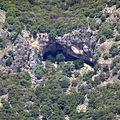 The Gulf of Fethiye ( Fethiye Körfezi) , karstic cave - panoramio.jpg