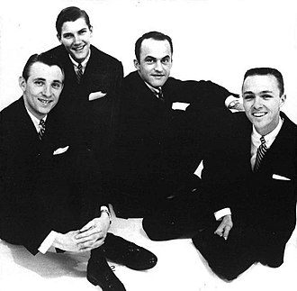 The Hi-Lo's - The group in 1957