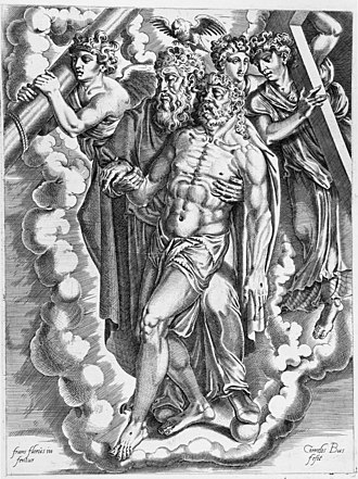Cornelis Bos - Image: The Holy Trinity LACMA M.88.91.92