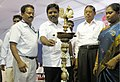 The MLA, Kattumannarkovil, Shri D. Ravikumar inaugurated the Bharat Nirman Public Information Campaign, organised by PIB Chennai, at Chidambaram in Cuddalore Tamil Nadu on September 05, 2009.jpg