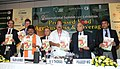 The Minister of State for Agriculture, Consumer Affairs, Food & Public Distribution, Prof. K.V. Thomas releasing the report at the inauguration of the second International Summit-cum Exhibition on process food.jpg