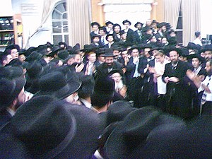 Mir Yeshiva (Jerusalem) - Simchat Beit HaShoeivah celebration, 2006