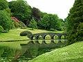 The Palladian Bridge, Stourhead - geograph.org.uk - 1303875.jpg