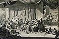 The Phillip Medhurst Picture Torah 484. Making the holy vestments. Exodus cap 39 vv 1-31. Mortier.jpg
