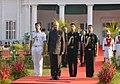 The President, Shri Ram Nath Kovind hosting 'At Home' reception, at Rashtrapati Nilayam, Bolarum, Secunderabad on December 26, 2017.jpg