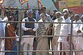 The Prime Minister, Dr. Manmohan Singh at the launch of programmes under National Rural Employment Guarantee Act (NREGA) at Bandlapalle village, Anantapur District of Andhra Pradesh, on Feb 2, 2006.jpg