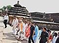The Prime Minister, Shri Narendra Modi at Lingaraj Temple, in Bhubaneshwar, Odisha.jpg