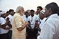 The Prime Minister, Shri Narendra Modi at the Assi Ghat, in Varanasi, Uttar Pradesh on May 01, 2016.jpg