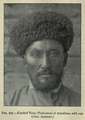 The Races of Man, figure 107 Kundrof Tatar (Turkoman) of Astrakhan (IA deniofmanoutlinraces00rich).png