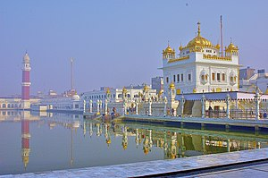 The Sarovar besides the GurudwaraTarn Taran Sahib, Punjab, India.jpg
